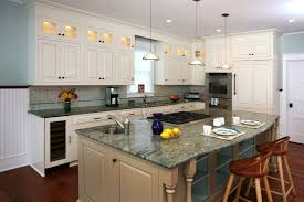 Building Upper Kitchen Cabinets Lighted Upper Cabinets Kitchen Traditional With All White Kitchen