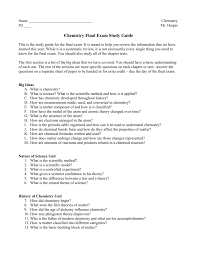 chapter 3 study guide