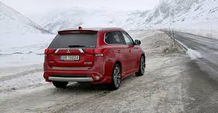 2017 mitsubishi outlander sport limited edition 2017 mitsubishi outlander phev review ice driving in norway
