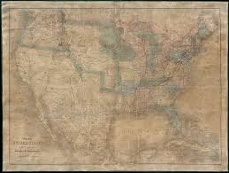 United States Wall Map by File 1839 Burr Wall Map Of The United States Only Example Of