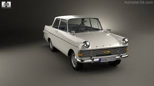 opel kapitan 1960 360 view of opel rekord p2 2 door sedan 1960 3d model hum3d store