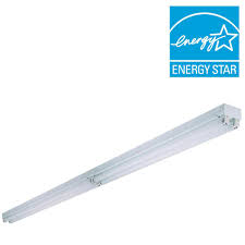 Ceiling Fluorescent Lights N Tandem 4 Light White Fluorescent Electronic Ceiling