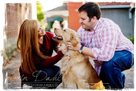 fun couple and a beautiful dog memphis couples and family