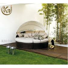 Outdoor Furniture Daybed China Outdoor Furniture Round Daybed With Canopy On Global Sources