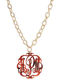 script monogram necklace script monogram necklace on greenwich chain frill clothing