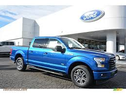truck ford blue 2017 ford f150 xlt supercrew in lightning blue a63683 truck n
