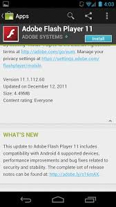 adobe flash player 11 1 for android adobe updates flash 11 1 to support android 4 0