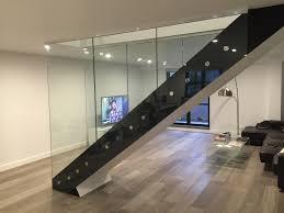 Glass Stair Banisters Frameless Glass Balustrades Melbourne Tough N Glass
