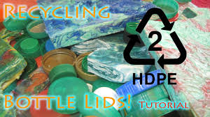 how to recycle hdpe bottle lids into flawless flat sheet material