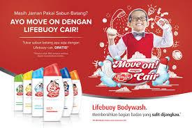 Sabun Lifebuoy move on lifebuoy cair era jakarta
