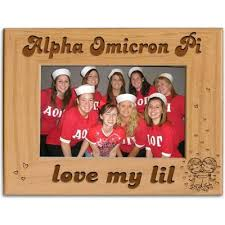 sorority picture frames alpha omicron pi accessories something