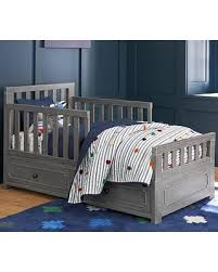 deal alert weston crib toddler bed conversion kit brushed charcoal