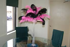 Where To Buy Ostrich Feathers For Centerpieces by Feather Centerpiece Event Centerpieces