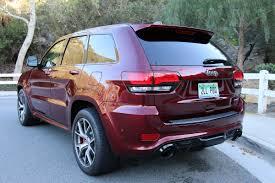 srt jeep inside duke u0027s drive 2017 jeep grand cherokee srt 4 4 review chris duke