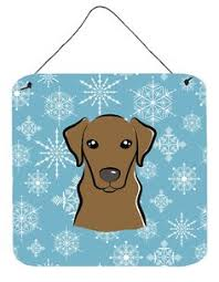 Hanging Prints Checkerboard Pink Chocolate Labrador Wall Or Door Hanging Prints
