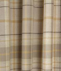 Mustard Curtain Voyage Decoration Berridale Fabric Mustard Just Fabrics