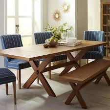 Java Dining Table Nolan Extension Java Trestle Table Pier 1 Imports To Astonishing