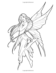 fairy mermaid coloring pages fearless fairy free coloring page by molly harrison fantasy art