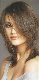 modern medium length layered hairstyle women medium haircut