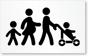 family parking signs reserved parking for parents with children