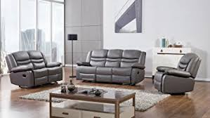 Dark Gray Living Room Furniture by Amazon Com American Eagle Furniture 3 Piece Bayfront Collection