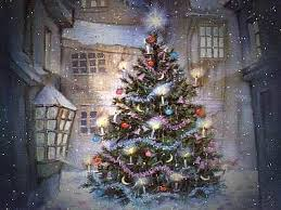 lighted christmas tree origins and history of the christmas tree the of mystica