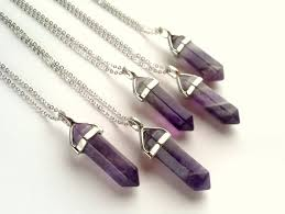 natural amethyst necklace images Amethyst crystal quartz point pendant gemstone natural stone jpg