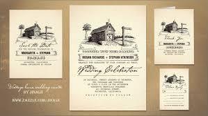 Rustic Wedding Invitation Barn Wedding Invitations Reduxsquad Com