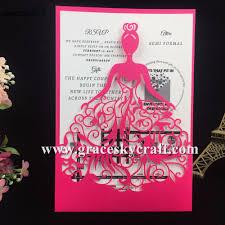 Princess Themed Invitation Card High Quality Princess Wedding Card Promotion Shop For High Quality
