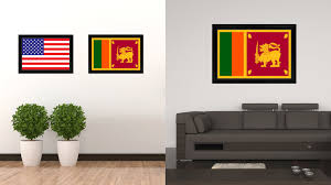 Home Decor Shops In Sri Lanka by Sri Lanka Country Flag Home Decor Office Wall Art Collection