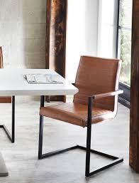 Esszimmerstuhl Freischwinger Holz Freischwinger Stühle Cognac Bestseller Shop Für Möbel Und