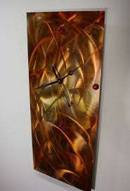 unique clock wilmos kovacs modern art decor metal wall sculpture painting