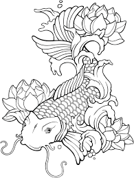 imagenes de pez koi a lapiz koi fish drawing tutorial at getdrawings com free for personal use