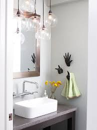 unique bathroom lighting ideas create a clean bathroom with the right suspension light photo of
