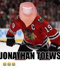 Nhl Meme - aue jer jonathan toews national hockey league nhl meme on