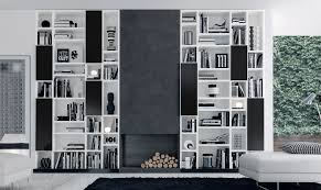 modern made to measure bookcases and shelving london