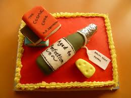 birthday wine ruchi birthday cake with edible handmade wine bottle books and