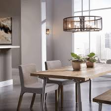 hanging lights for dining table round maroon stained wooden dining
