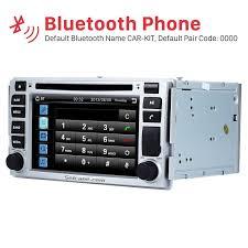 hyundai santa fe bluetooth oem 2 din 2006 2012 hyundai santa fe radio bluetooth gps
