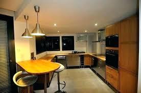 spots led cuisine spot encastrable plat pour meuble de cuisine led kit design