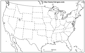States Map Of Usa by Printable Blank Map Of Usa States Map Of Usa State