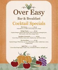 menu over easy pdx