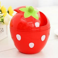 Small Desktop Trash Can Snw Cute Polka Dot Trash Mini Desktop Trash Creative Desk Plastic