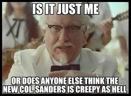 Colonel Sanders Memes - new kfc spokesman acidrayn com