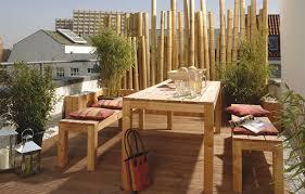 balkon bambus sichtschutz garten deco deco garten sichtschutz bambus find pin this and