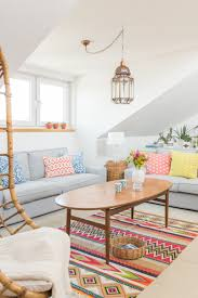 Wohnzimmer In English Farbflash Auf Der Galerie Boho Bunt Und Frühling