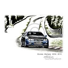 nissan skyline drawing the world u0027s newest photos of drawing and gtr flickr hive mind