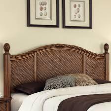 bedroom dark brown square pattern wicker rattan bedroom furniture