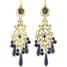 Colorful Chandelier Earrings Crystal Chandelier Earrings Polyvore
