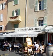 St Tropez Awning Crepe Con Salmone Affumicato E Insalatina Una Meraviglia
